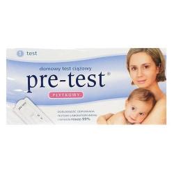 Test ciążowy PRE-TEST płytkowy x 1 szt.
