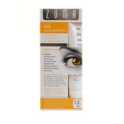ZUMA Żel ze świetlikiem pod oczy skóra zmęczona 15 ml