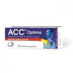 ACC Optima 600mg x 10 tabletek musujących