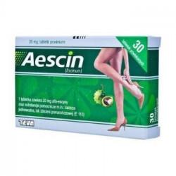 Aescin 200mg 30 tabletek