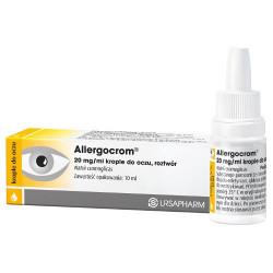 Allergocrom krop.do oczu 10 ml