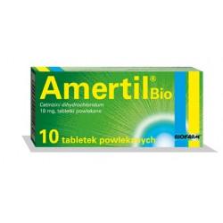 AMERTIL BIO 10 mg 10 tabletek