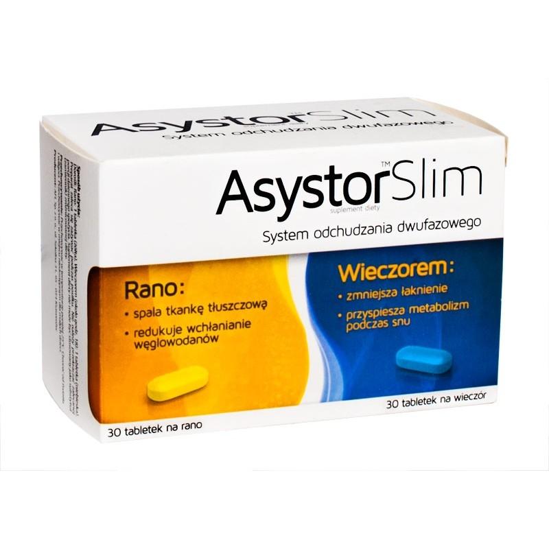 Asystor Slim Tabletki 60 Szt Apteka Internetowa Prima 24