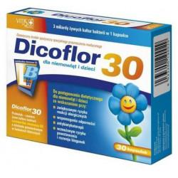 Dicoflor 30, kapsułki, 30 sztuk