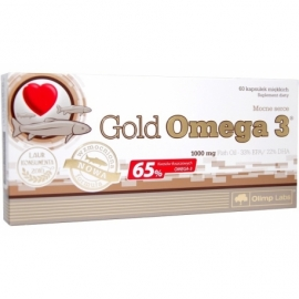 Olimp Gold Omega-3 1000 mg 60 kapsułek