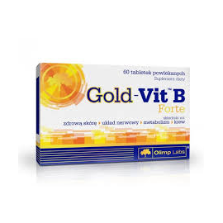 Olimp Gold Vit B Forte, tabletki powlekane, 60 szt