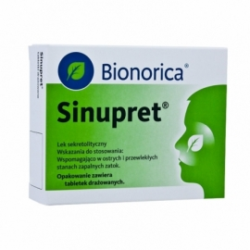 SINUPRET 100 tabletek