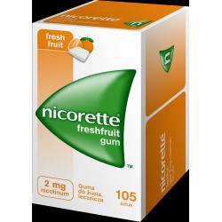 NICORETTE FreshFruit Gum 2mg, 105 sztuk