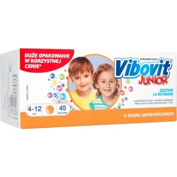 Vibovit Junior pomarańcza x 45 sasz.