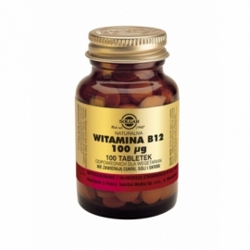 SOLGAR Witamina B12 100 tabletek