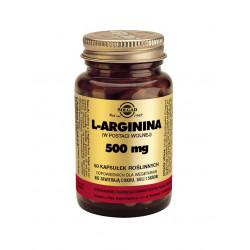 SOLGAR L Arginina 500mg 50 kapsułek