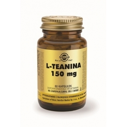 SOLGAR L-Teanina 150 mg,  60 kapsułek
