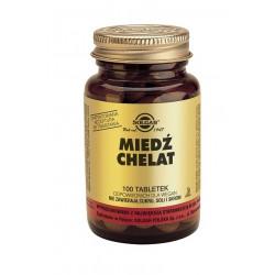 SOLGAR Miedź  2,5 mg 100 tabl.