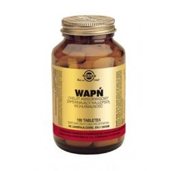 SOLGAR Wapń Chelat Aminokwasowy 100 tabletek