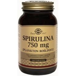 SOLGAR Spirulina 750 mg  100 tabletek