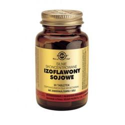SOLGAR Izoflawony sojowe skoncentrowane 30 tabletek.