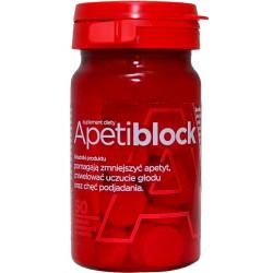 Apetiblock 50 tabletek musujących do ssania