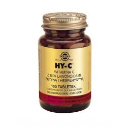 SOLGAR HY-C naturalna witamina C z bioflawonidami, 100 tabletek