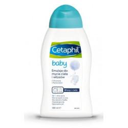 Cetaphil Baby Emulsja do mycia ciała i włosów 300 ml