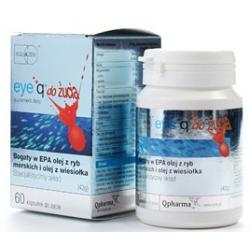 Eye Q 60 kaspułek do żucia o smaku truskawkowym