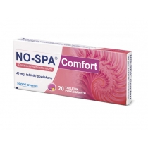 No-Spa Comfort 0.04g x 20 tabl.