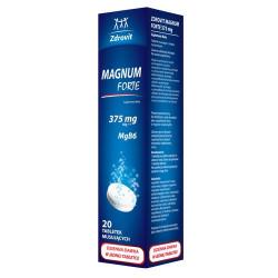 Zdrovit Magnum Forte 375 mg, 20 tabletek musujących