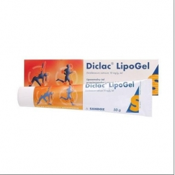 Diclac Lipogel 0,01g/g  50g