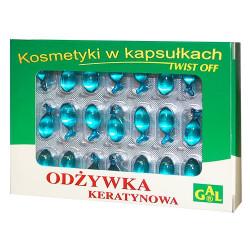 Gal, odżywka keratynowa, kapsułki żelatynowe, 48 szt.