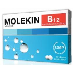 Molekin B12 0,25 mg x 60 tabl.