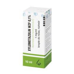 Xylometazolin WZF 0.1%  krop. do nosa 10ml