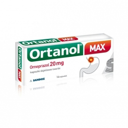 Ortanol Max 20mg 14 kapsułek