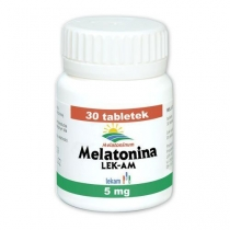Melatonina 5mg x 30 szt.