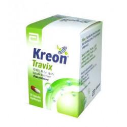 Kreon Travix 10 000 j. 50 kapsułek