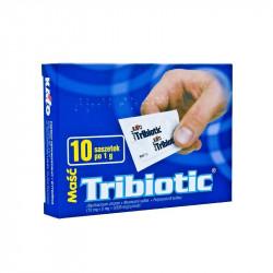 Tribiotic, maść antybakteryjna, 1 g, 10 saszetek
