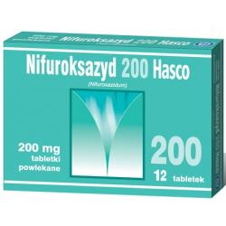 Nifuroksazyd, 200 mg, tabletki powlekane, 12 szt.