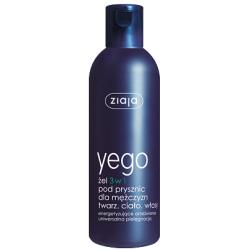 ZIAJA YEGO Żel 3w1 pod prysznic dla mężczyzn (mydło, żel, płyn) 300 ml