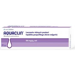 Aquaclin żel 0,05 g/g 30 g (tuba)