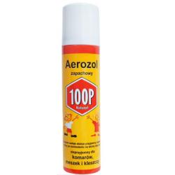 100P aerozol ochronny przeciw komarom, kleszczom i meszkom 75 ml
