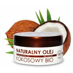 Naturalny olej Bio z miąższu kokosa 150 ml