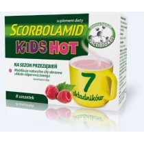 Scorbolamid KIDS Hot 3 g x 8 sasz.