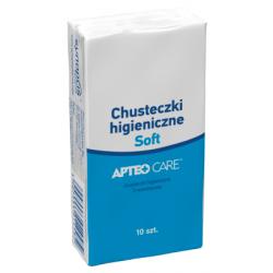 Chusteczki higieniczne Soft APTEO CARE x 10 sztuk (1op.)