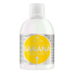 KALLOS KJMN Banans Szampon wzmacniający włosy z kompleksem multiwitamin1000 ml