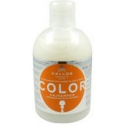 KALLOS Color Szampon do włosów farbowanych i łamliwych  1000 ml
