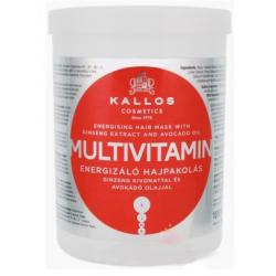 KALLOS MULTIVITAMIN Maska do włosów energizująca 1000 ml