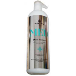KALLOS MED Detox Szampon głęboko oczyszczający 1000 ml