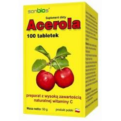 Natur C Acerola 500 mg x 100 tabletek