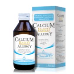 Calcium HASCO Allergy 115,6mg jonów Ca bezsmakowe syrop 150 ml