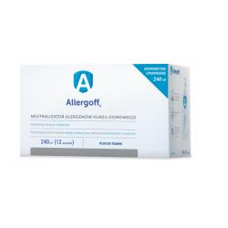 Allergoff płyn do tkanin 240 ml  (12 ampułek)