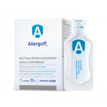 Allergoff płyn do tkanin 6 x 20 ml