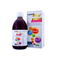 Loma Vital żelazo+cynk płyn 500 ml